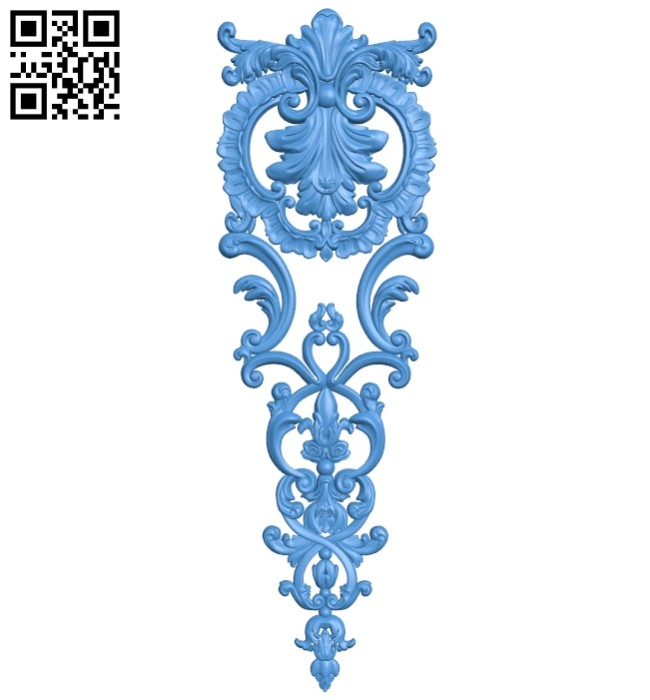 Pattern decor design A004911 download free stl files 3d model for CNC wood carving