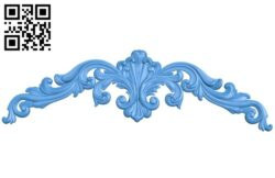 Pattern decor design A004912 download free stl files 3d model for CNC wood carving