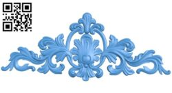 Pattern decor design A004914 download free stl files 3d model for CNC wood carving