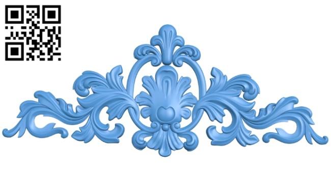 Pattern decor design A004914 download free stl files 3d model for CNC wood carving