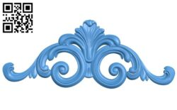 Pattern decor design A004919 download free stl files 3d model for CNC wood carving