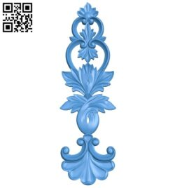 Pattern decor design A004920 download free stl files 3d model for CNC wood carving