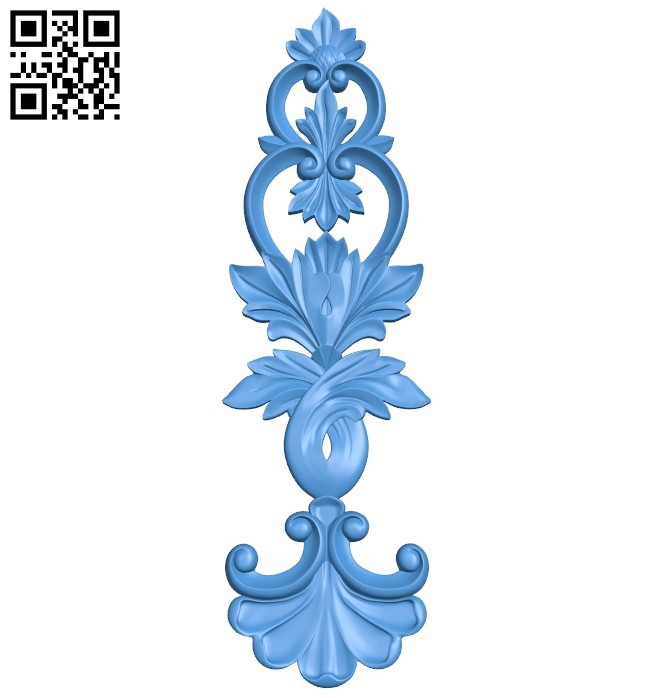 Pattern decor design A004920 download free stl files 3d model for CNC wood carving