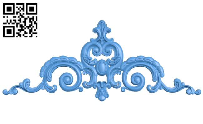 Pattern decor design A004921 download free stl files 3d model for CNC wood carving