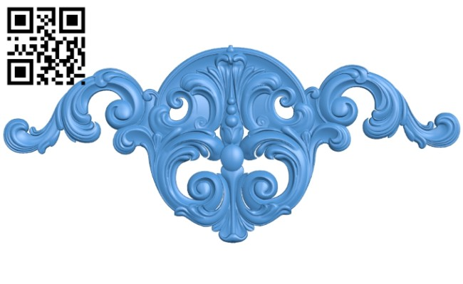Pattern decor design A004924 download free stl files 3d model for CNC wood carving