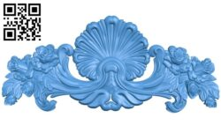 Pattern decor design A004948 download free stl files 3d model for CNC wood carving