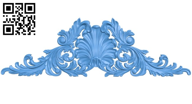 Pattern decor design A004950 download free stl files 3d model for CNC wood carving