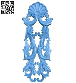 Pattern decor design A004951 download free stl files 3d model for CNC wood carving