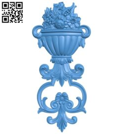 Pattern decor design A004954 download free stl files 3d model for CNC wood carving