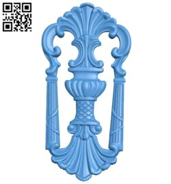 Pattern decor design A004955 download free stl files 3d model for CNC wood carving
