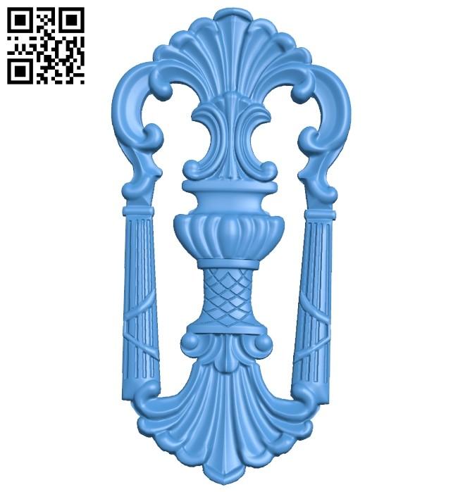 Pattern decor design A004955 download free stl files 3d model for CNC wood carving