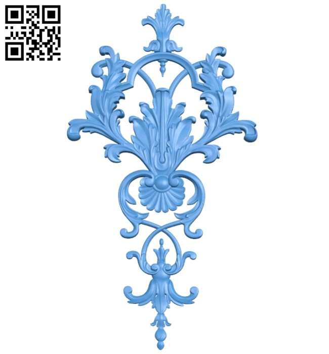Pattern decor design A004956 download free stl files 3d model for CNC wood carving