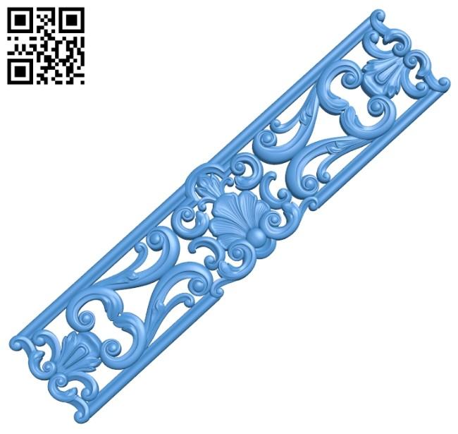 Pattern decor design A004966 download free stl files 3d model for CNC wood carving