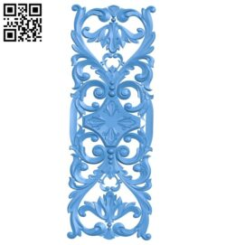 Pattern decor design A004971 download free stl files 3d model for CNC wood carving