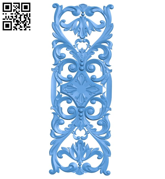 Pattern decor design A004971 download free stl files 3d model for CNC wood carving