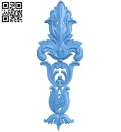 Pattern decor design A004973 download free stl files 3d model for CNC wood carving