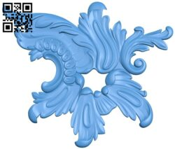 Pattern decor design A004974 download free stl files 3d model for CNC wood carving