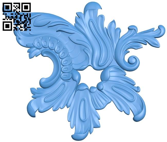 Pattern decor design A004974 download free stl files 3d model for CNC wood carving