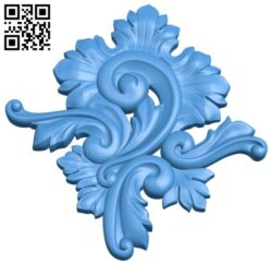 Pattern decor design A004975 download free stl files 3d model for CNC wood carving