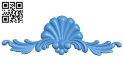 Pattern decor design A004982 download free stl files 3d model for CNC wood carving