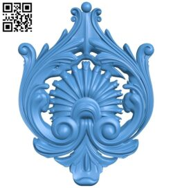 Pattern decor design A004983 download free stl files 3d model for CNC wood carving