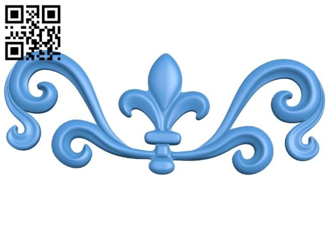 Pattern decor design A004985 download free stl files 3d model for CNC wood carving