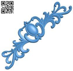 Pattern decor design A004987 download free stl files 3d model for CNC wood carving