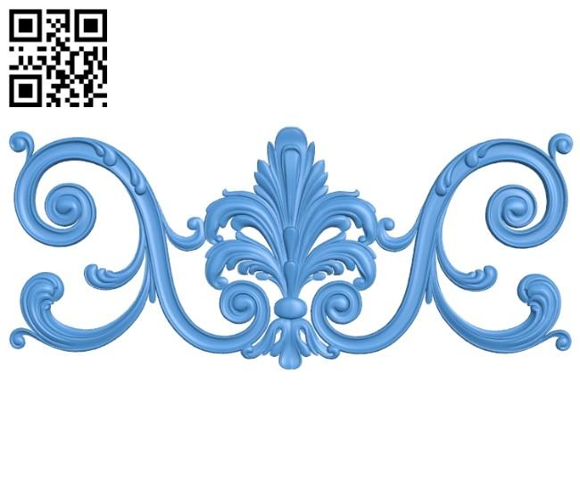 Pattern decor design A004988 download free stl files 3d model for CNC wood carving