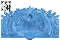 Pattern of the table A004838 download free stl files 3d model for CNC wood carving