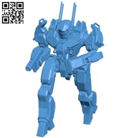 Phoenix hawk B007543 file stl free download 3D Model for CNC and 3d printer