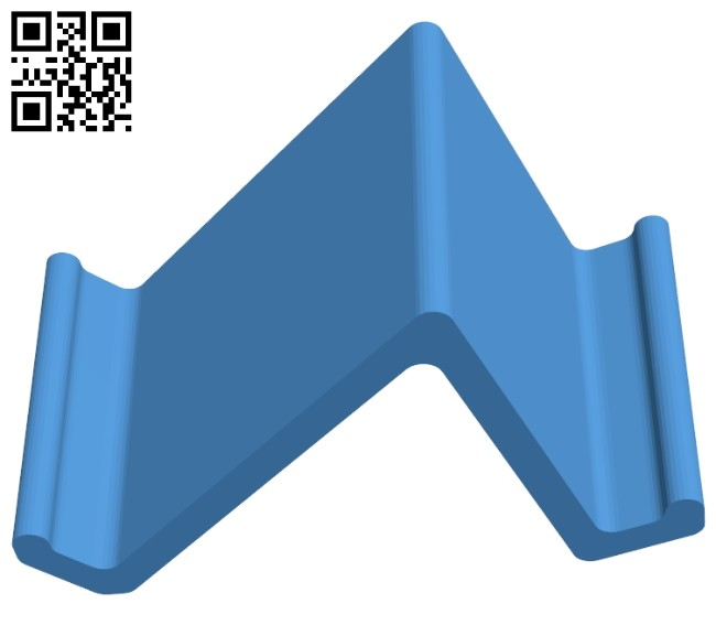 Phone stand - smartphone B007353 file stl free download 3D Model for CNC and 3d printer