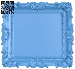 Picture frame or mirror A004816 download free stl files 3d model for CNC wood carving