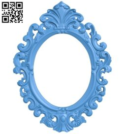 Picture frame or mirror A004908 download free stl files 3d model for CNC wood carving