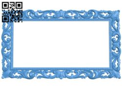 Picture frame or mirror A004960 download free stl files 3d model for CNC wood carving
