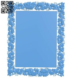 Picture frame or mirror A004962 download free stl files 3d model for CNC wood carving