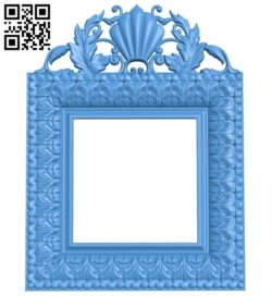 Picture frame or mirror A004965 download free stl files 3d model for CNC wood carving