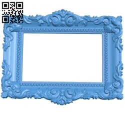 Picture frame or mirror A004978 download free stl files 3d model for CNC wood carving