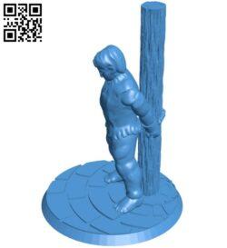 Prisoner man B007276 file stl free download 3D Model for CNC and 3d printer