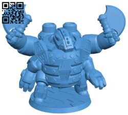 Robot Badger King B007552 file stl free download 3D Model for CNC and 3d printer