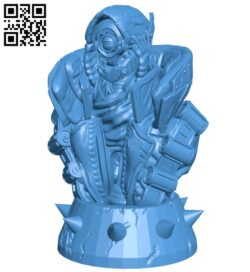 Robot body B007302 file stl free download 3D Model for CNC and 3d printer