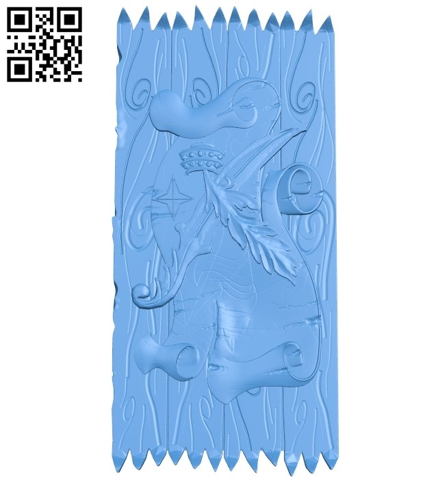 Sample scroll door A004777 download free stl files 3d model for CNC wood carving