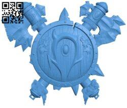 Schitok dota B007259 file stl free download 3D Model for CNC and 3d printer