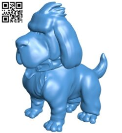 Serious dog B007397 file stl free download 3D Model for CNC and 3d printer
