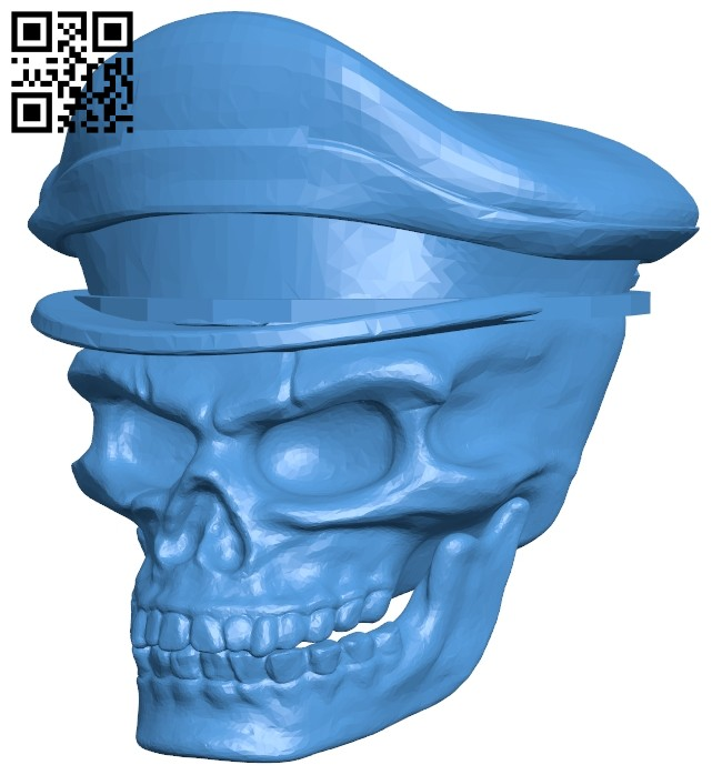 Skull Chief B007289 file stl free download 3D Model for CNC and 3d printer