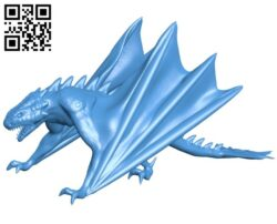 Sly Dragon B007245 file stl free download 3D Model for CNC and 3d printer