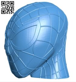 Spiderman head B007557 file stl free download 3D Model for CNC and 3d printer