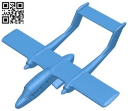 Sports aircraft B007223 file stl free download 3D Model for CNC and 3d printer