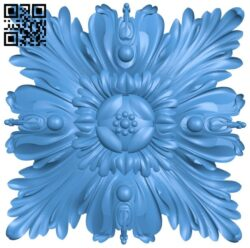Square pattern A004927 download free stl files 3d model for CNC wood carving