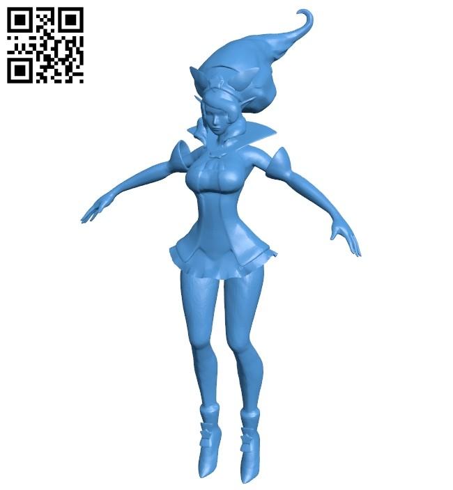 Star guardian Miss Janna B007531 file stl free download 3D Model for CNC and 3d printer