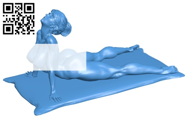 Stretch women B007439 file stl free download 3D Model for CNC and 3d printer